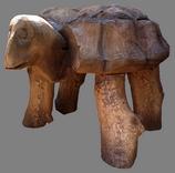 скульптура из дерева Черепаха тонированная