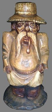 скульптура из дерева Хохол