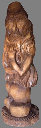 скульптура из дерева Леший
