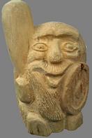 скульптура из дерева Лесовичок