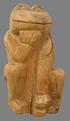 скульптура из дерева Лягушка