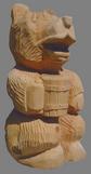 скульптура из дерева Мишутка