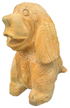 скульптура из дерева Собака
