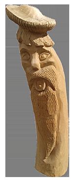 скульптура из дерева Стоян Залесский