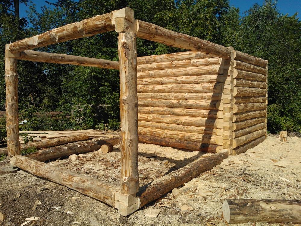 Как построить сруб для бани своими руками
